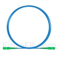 Image de 3m Câble Armé Acier SC APC vers SC APC Simplex OS2 Monomode PVC (OFNR) 3,0mm