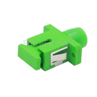 Image de Adaptateur à Fibre Optique/Manchon d'Accouplement Plastique FC/APC vers SC/APC Hybride Simplex Monomode, Femelle vers Femelle