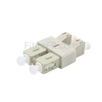 Image de Adaptateur à Fibre Optique Plastique LC/UPC Femelle vers SC/UPC Mâle Multimode OM1 Duplex