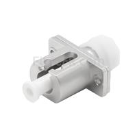 Image de Adaptateur à Fibre Optique/Manchon d'Accouplement Métallique FC vers LC Hybride Simplex, Femelle vers Femelle