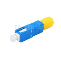 Image de Adaptateur à Fibre Optique/Manchon d'Accouplement ST Femelle vers SC Mâle Simplex Monomode