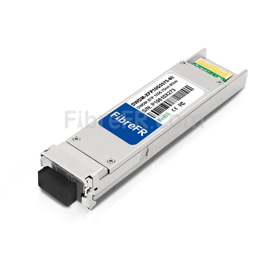 Image de ADTRAN 1442981G7C Compatible 10GBase-DWDM XFP Module Optique 1555,75nm 80km SMF(LC Duplex) DOM