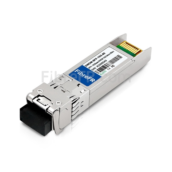 Image de Telco BTI-DW-ZR-43-SFP+ Compatible 10GBase-DWDM SFP+ Module Optique 1542,94nm 80km SMF(LC Duplex) DOM