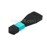 Image de Module Loopback à Fibre Optique Multimode 24-Fibres MTP®/MPO Femelle Type 1 OM4 50/125