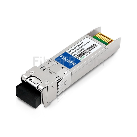 Image de Dell C21 DWDM-SFP25G-60.61 Compatible Module SFP28 25G DWDM 100GHz 1560.61nm 10km DOM