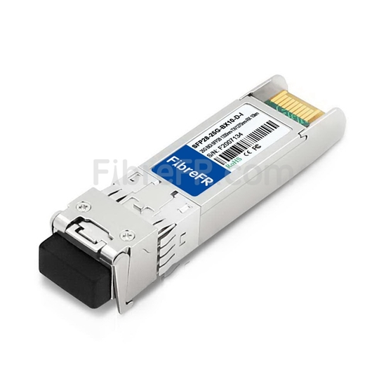 Image de Cisco SFP-25GBX-D-10-I Compatible Module SFP28 25GBASE-BX10-D 1330nm-TX/1270nm-RX 10km Industriel DOM