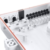 Image de FDB-0324 Boîte de Distribution Extérieure de Splitter PLC Blockless à Fibre Optique 1 x 16 sans Pigtails ni Adaptateurs
