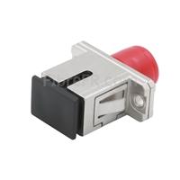 Image de Adaptateur à Fibre Optique/Manchon d'Accouplement en Cuivre FC-SC Hybride Simplex, Femelle vers Femelle